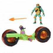 Vehicul cu figurina Michelangelo - Testoasele Ninja