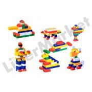 Set cuburi de constructie cu 68 piese
