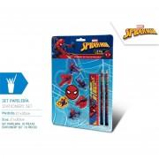 Marvel set da cancelleria per la scuola spider-man 10 pezzi mv15339
