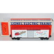 Lionel 6 19908 1989 O Gauge Christmas Box Car Santa Claus In Sleigh W/ Reindeer