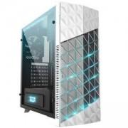 Кутия AZZA Onyx 260X CSAZ-260X Mid Tower / Бяла / RGB, AZZA-CASE-ONYX260X-W