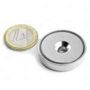 Magnet oala neodim 32mm cu orificiu