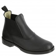 Fouganza Boots équitation adulte CLASSIC cuir noir - Fouganza - 39