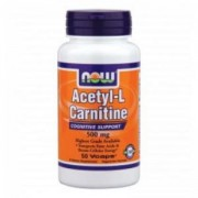 Ацетил Л-Карнитин - Acetyl L-Carnitine 500 мг. - 50 капсули - NOW FOODS, NF0075