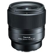 Pachet Tokina FiRIN 20mm f 2 FE AF obiectiv montura Sony E cu Filtru UV
