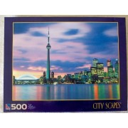 Sure Lox Toronto Canada City Scapes 500 Piece Jigsaw Puzzle