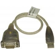 Deltaco ATEN USB till Seriell adapter RS-232 0,35m
