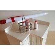 Naveta cu 4 sticle de lapte - miniaturi papusi