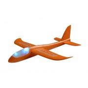 Echar Mano De Bricolaje Planeador Volando Aviones Avión De Espuma Modelo De Avión Para Niños Naranja