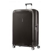 Samsonite Neopulse 81cm Extra Large 4 Wheel Spinner Suitcase - Metallic Black
