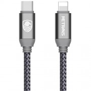 USB-C to Lightning Cable, Metrans USB 2.0 Type C to Lightning Charging&Sync Cable for iPhone X/ 8/ 8 Plus iPad Connect to Macbook and Other USB C Devices(Space Gray, 3.3ft)