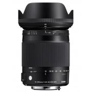 Pachet Sigma 18-300mm f 3.5-6.3 DC MACRO OS HSM C Canon+Manfrotto Filtru UV Slim