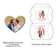 Magnet Plastifiat Forma Inima
