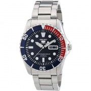 Seiko 5 Sports Blue Dial Stainless Steel Montre Homme SNZF15K1