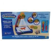 Projector Painting Drawing Activity Kit Toy Set