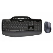 Logitech MK710 RF Draadloos QWERTY US International Zwart toetsenbord