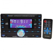 SoundBoss DOUBLE DIN Bluetooth Wireless With Phone Caller Id Receiver Car Media Player
