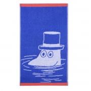 Finlayson Muminpappan handduk blå/röd, finlayson