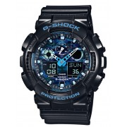 Ceas barbatesc Casio GA-100CB-1AER G-Shock 51mm 20ATM