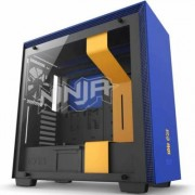 Кутия nzxt h700i smart ninja edition mid-tower, nzxt-case-h700w-nj