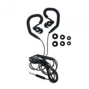 Универсални слушалки (с микрофон) 3.5mm - модел SP80 (черно)
