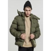Hooded Boxy Puffer Jacket olive XXL