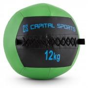 Capital Sports Epitomer Wall Ball 12kg Kunstleder grün