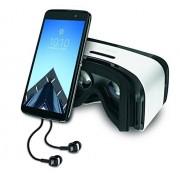 Alcatel Idol 4S - teléfono desbloqueado de fábrica - Negro (versión EE. UU.), Teléfono con VR, Gris oscuro