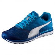 Puma Men's Speed 300 Ignite True Blue, Blue Danube and Silver Running Shoes - 9 UK/India (43 EU)