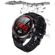 Smart watch IP68 Natacion, Notificaciones, Llamadas, Monitoreo de Salud, Deportes, para iPhone y Android
