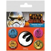 Star Wars - Pins 5-Pack Rebels