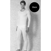 Doreanse Solid Long Sleeved T Shirt Black 2970