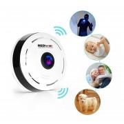Camara De Seguridad Wifi HD 360 Panoramica. Incluye Memoria De 8 GB