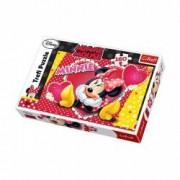 Puzzle Minnie Mouse viseaza cu ochi deschisi 160 piese