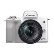 Canon EOS M50 + EF-M 18-150mm - Blanc
