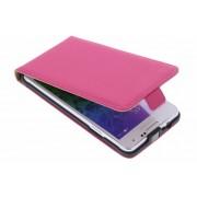 Premium flipcase voor de Samsung Galaxy Alpha - Roze