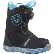 Burton Grom Boa Snowboardboots, Black 31,5