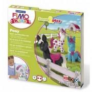 Rayher hobby materialen Pony hobby pakket Fimo kids