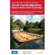 Fietskaart 17 Cycle Map South Cambridgeshire, Beds & Herts | Sustrans