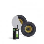 Aquasound wifi audio versterker 20,5cm. 40W wit twa40fr