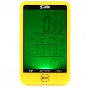 Ordenador De Bicicleta SunDing SD - 576C Con Luz De Fondo - Amarillo