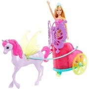 Barbie hercegnő kocsival és lóval