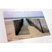 Foto op los canvasdoek 55x130 cm