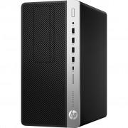 PC HP EliteDesk 705 G4, 9PJ97EA, Micro tower, AMD Ryzen Pro 7-2700 8C/16T, 512GB SSD, 8GB, AMD Radeon RX550 4GB, Windows 10 Professional, srebrna, crna, 36mj, Tipk., Miš
