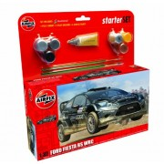 Airfix Ford Fiesta RS WRC Car Building Gift Set, 1:32 Scale