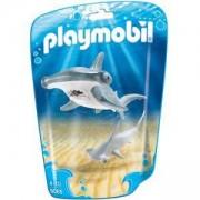 Комплект Плеймобил 9065 - Акула чук с малко, Playmobil, 2900253