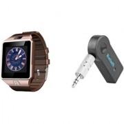 Mirza DZ09 Smart Watch and Car Bluetooth for LG OPTIMUS L5(DZ09 Smart Watch With 4G Sim Card Memory Card| Car Bluetooth)