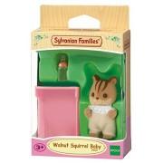 Sylvanian Families 3409 Walnut Squirrel Baby - Sy