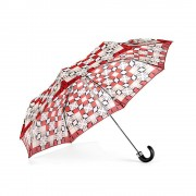 Marylebone Auto Umbrella - Berry
