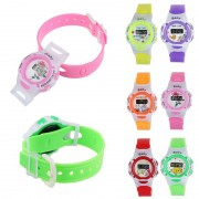 Dropshipping HL2016 Best seller free shipping Colorful Boys Girls Student Time Electronic Digital Wrist Sport relogio masculino